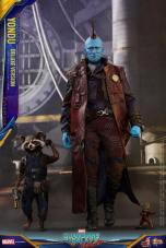Hot Toys Guardians of the Galaxy Vol. 2 Yondu figure -walking with Rocket and Groot