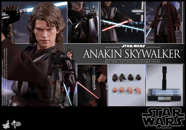 Hot Toys Revenge of the Sith Anakin Skywalker - collage