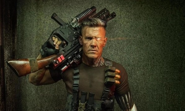 Josh Brolin as Cable main