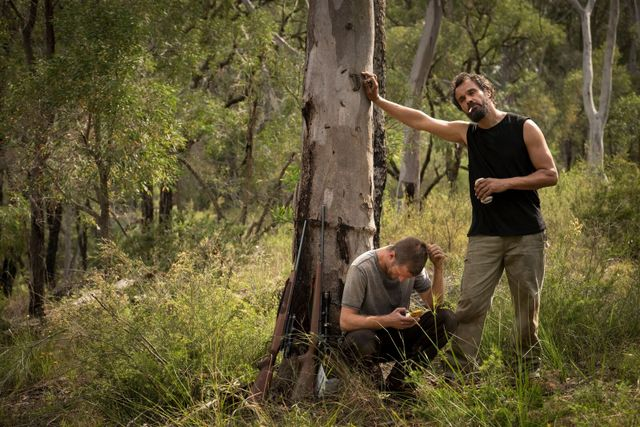 Killing Ground review - Aaron Glenane and Aaron Pedersen