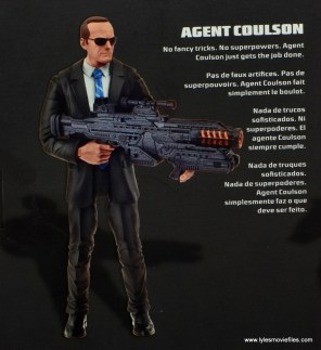 Marvel Legends Avengers Initative figure review - Agent Coulson bio