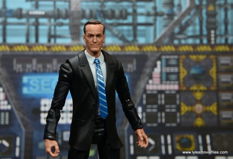 Marvel Legends Avengers Initative figure review - Agent Coulson main