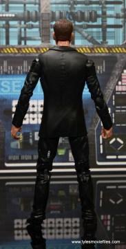 Marvel Legends Avengers Initative figure review -Agent Coulson rear