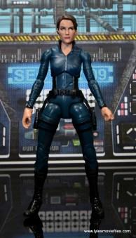 Marvel Legends Avengers Initative figure review - Maria Hill front