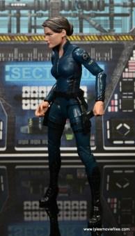 Marvel Legends Avengers Initative figure review - Maria Hill left side