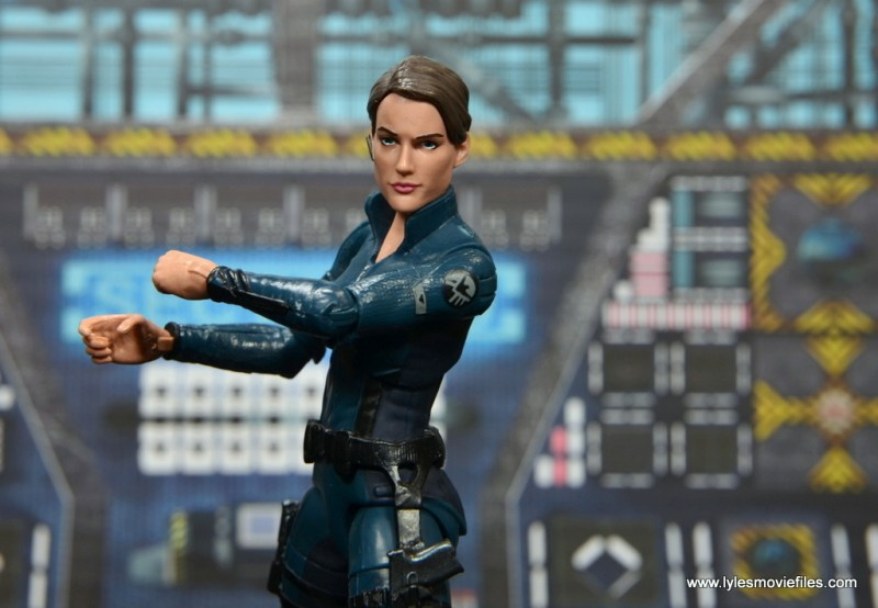 Marvel Legends Avengers Initative figure review -Maria Hill main