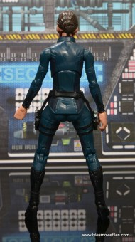 Marvel Legends Avengers Initative figure review -Maria Hill rear