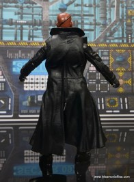 Marvel Legends Avengers Initative figure review - Nick Fury rear