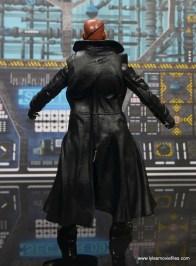 Marvel Legends Avengers Initative figure review - Nick Fury rear