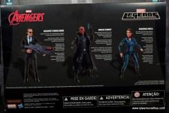 Marvel Legends Avengers Initative figure review -package rear