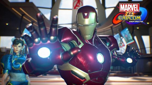 Marvel vs. Capcom Infinite Chun-Li and Iron Man