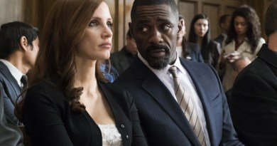Jessica Chastain and Idris Elba double down in new Molly's Game trailer