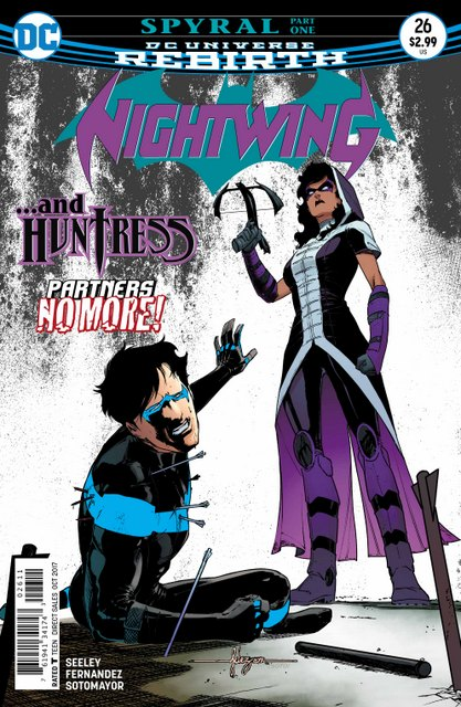 Nightwing #26 cover
