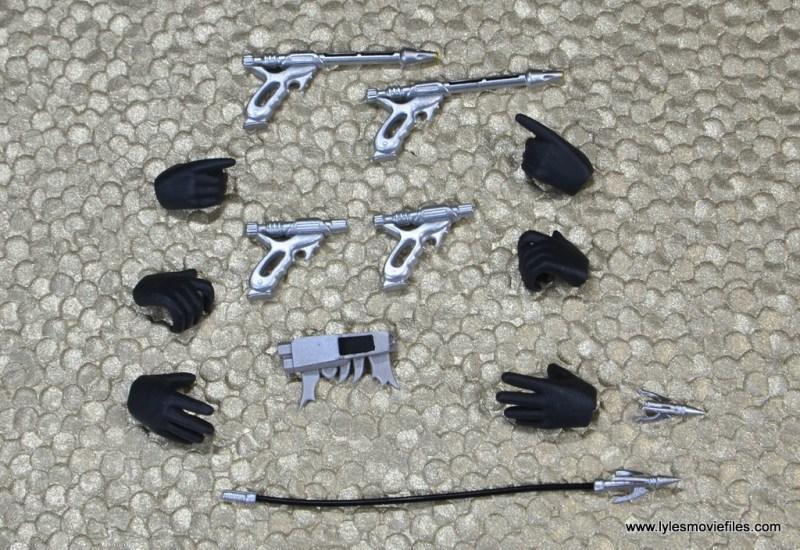 SH Figuarts Jango Fett figure review - accessories