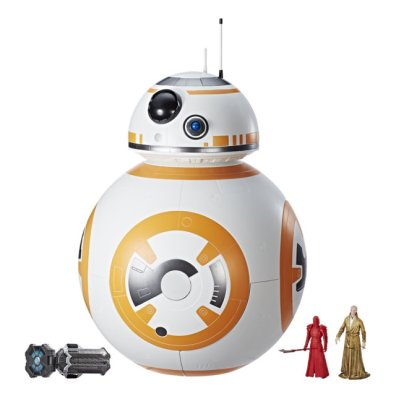 STAR WARS FORCE LINK BB-8 2-IN-1 MEGA PLAYSET (with FORCE LINK WEARABLE BAND) - closed