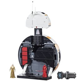 STAR WARS FORCE LINK BB-8 2-IN-1 MEGA PLAYSET (with FORCE LINK WEARABLE BAND) - open