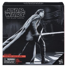 Star Wars The Black Series 6-inch Kylo Ren in Throne Room - Pack Closed