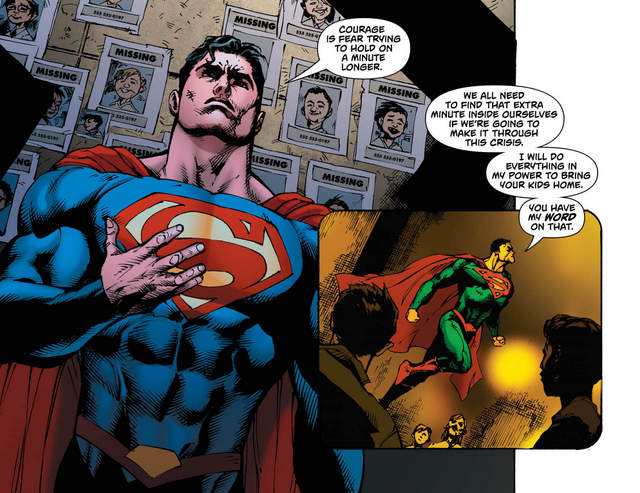 Superman #29 interior art