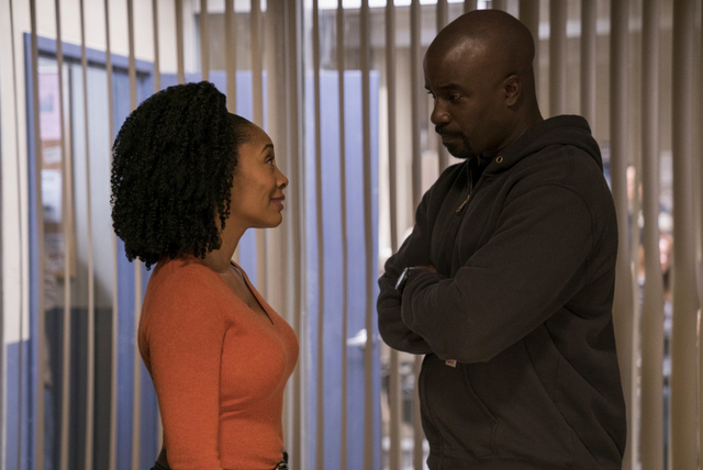 The Defenders - Take Shelter review - Misty Knight and Luke Cage