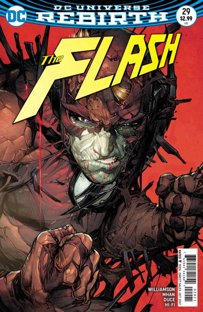 The Flash #29 variant cover