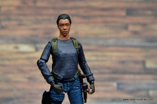 The Walking Dead Sasha figure review - main