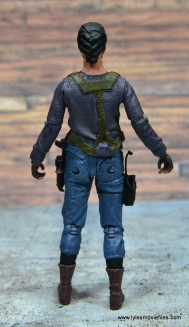 The Walking Dead Sasha figure review - rear