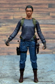 The Walking Dead Sasha figure review -straight