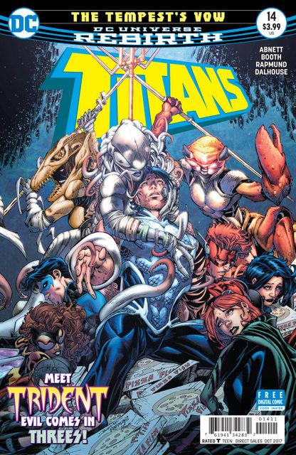 Titans #14 cover