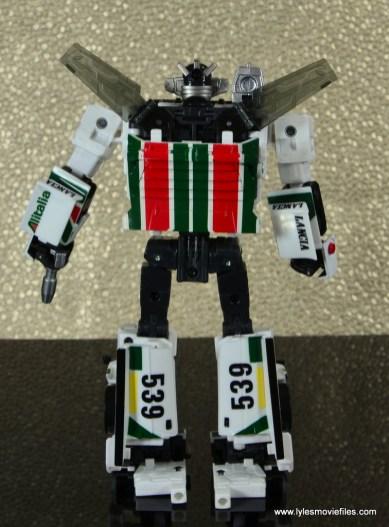 Transformers Masterpiece Wheeljack figure review -bot mode rear
