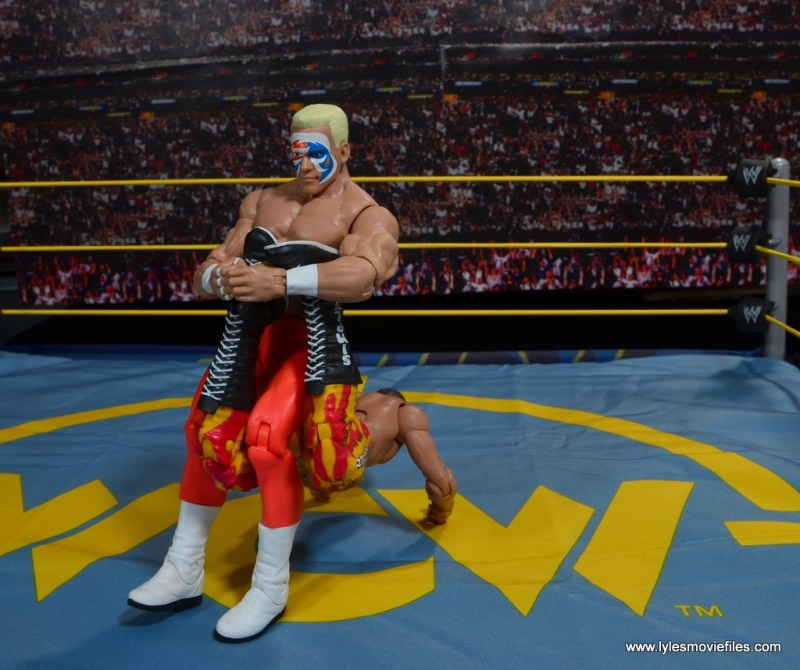 WWE Basic Surfer Sting figure review - Scorpion Deathlok to Rick Rude