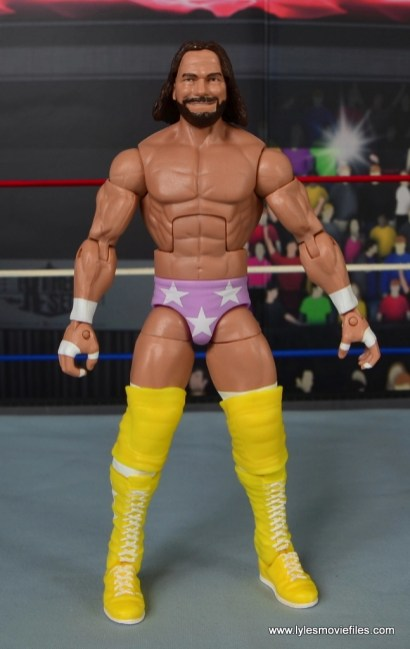WWE Defining Moments Macho Man Randy Savage figure review -front