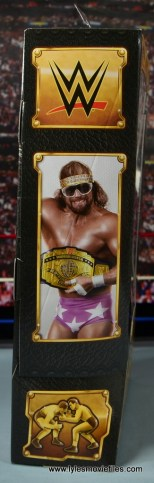 WWE Defining Moments Macho Man Randy Savage figure review -package side