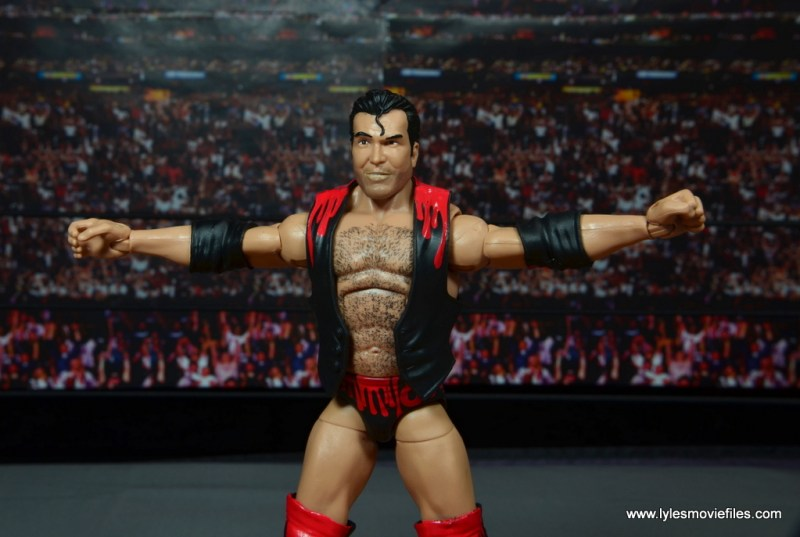WWE Elite 51 Scott Hall figure review - Outsider pose