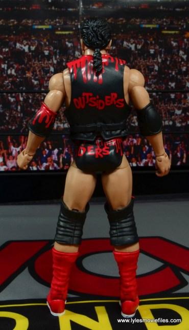 WWE Elite 51 Scott Hall figure review -rear