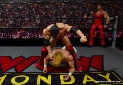 WWE Elite 51 Scott Hall figure review -slapping Lex