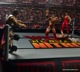 WWE Elite 51 Scott Hall figure review -taunting The Giant