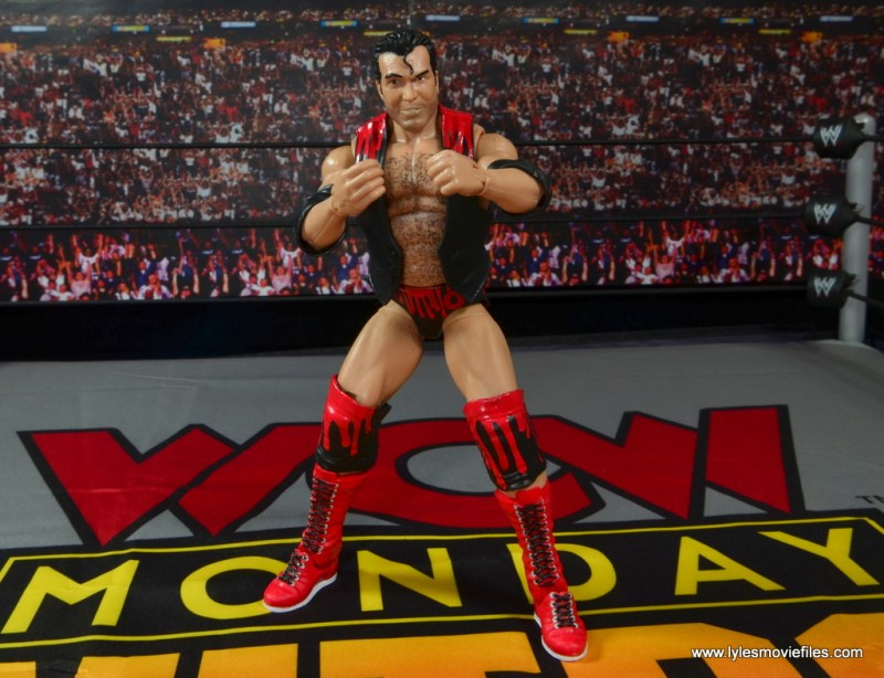 WWE Elite 51 Scott Hall figure review - taunting pose