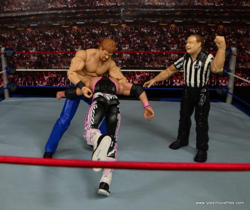 WWE Elite Isaac Yankem figure review -DDS to Bret Hart