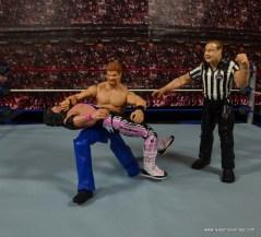 WWE Elite Isaac Yankem figure review -backbreaker to Bret Hart