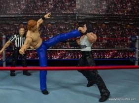 WWE Elite Isaac Yankem figure review -big boot to Diesel