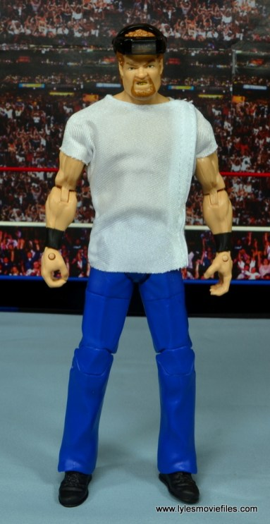 WWE Elite Isaac Yankem figure review -front