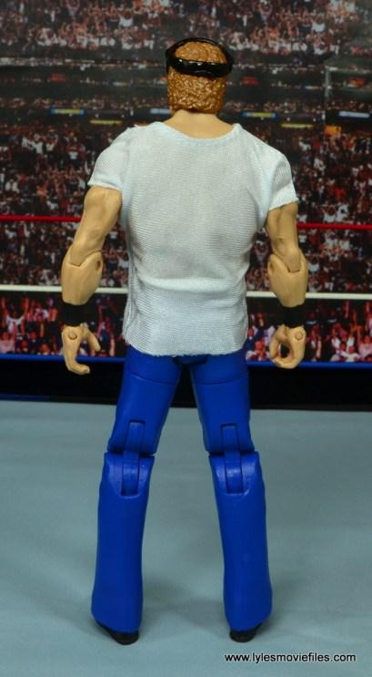 WWE Elite Isaac Yankem figure review -rear
