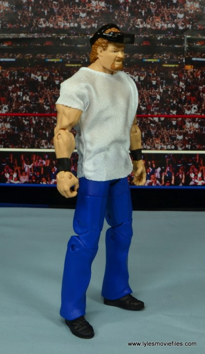 WWE Elite Isaac Yankem figure review -right side