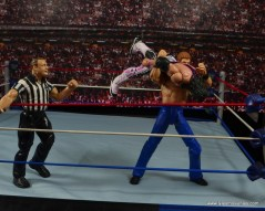 WWE Elite Isaac Yankem figure review -snake eyes to Bret Hart