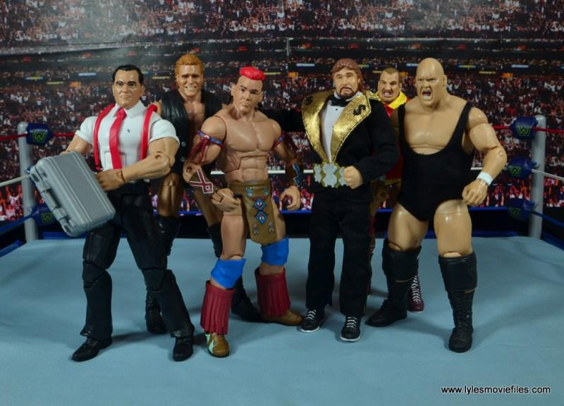 WWE Elite Tatanka figure review - Million Dollar Corporation