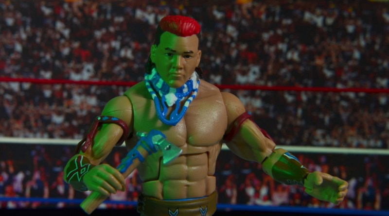 WWE Elite Tatanka figure review - main pic