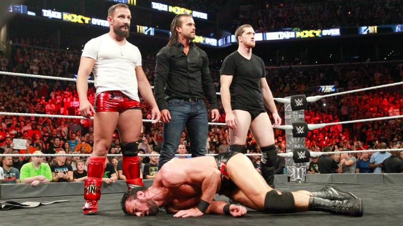 WWE NXT TakeOver Brooklyn III - Bobby Fish, Adam Cole and Kyle O'Reilly