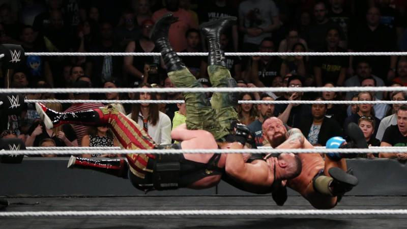 WWE NXT TakeOver Brooklyn III - Sanity vs Authors of Pain