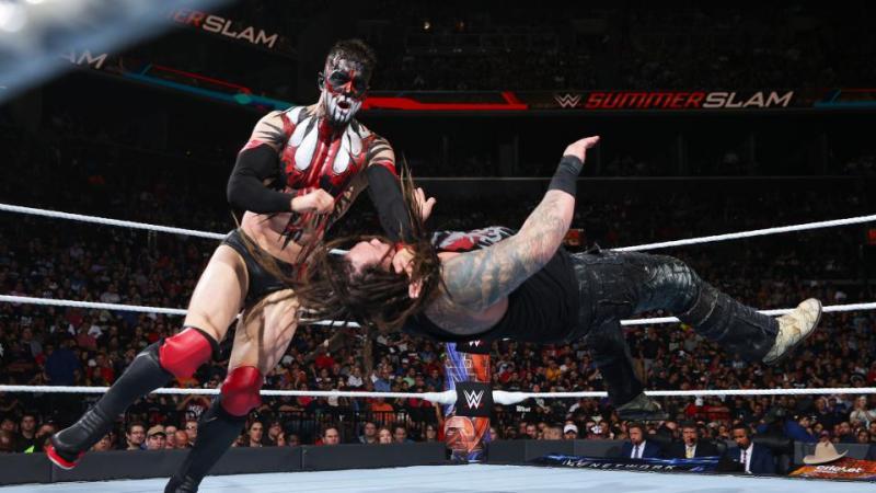 WWE Summerslam 2017 - Finn Balor vs Bray Wyatt