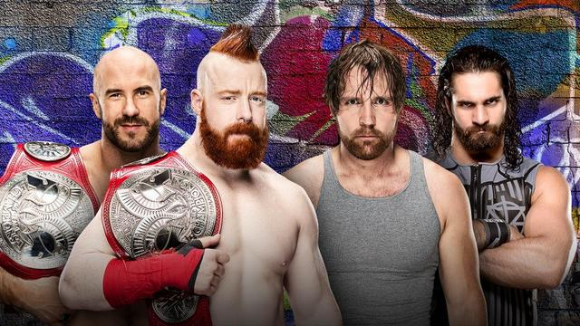 WWE Summerslam 2017 preview - Cesaro and Sheamus vs Dean Ambrose and Seth Rollins
